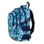 Kép 4/9 - St.Right - Blue Leaves iskolatáska, hátizsák - 4 rekeszes