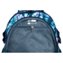 Kép 8/9 - St.Right - Blue Leaves iskolatáska, hátizsák - 4 rekeszes