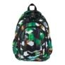Kép 2/9 - St.Right - Green 3D Blocks hátizsák, iskolatáska - 4 rekeszes