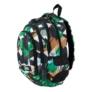 Kép 4/9 - St.Right - Green 3D Blocks hátizsák, iskolatáska - 4 rekeszes