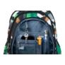 Kép 7/9 - St.Right - Green 3D Blocks hátizsák, iskolatáska - 4 rekeszes
