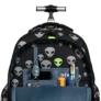 Kép 10/10 - St.Right - Reflective Aliens gurulós iskolatáska, hátizsák