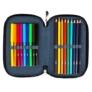 Kép 2/3 - St.Right - Unikornis felszerelt emeletes tolltartó - Rainbow