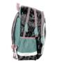 Kép 3/3 - Lovas hátizsák, iskolatáska - 3 rekeszes - Indián tollak