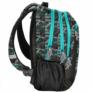 Kép 3/3 - Maui and Sons iskolatáska, hátizsák - 3 rekeszes - fekete-zöld (MAUB-2808)
