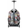Kép 4/5 - Multicolor gurulós hátizsák, iskolatáska (17-1230UG)