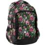 Kép 1/3 - Virágos iskolatáska, hátizsák - 3 rekeszes - Nagy virágok (PPLK19-2808)