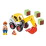 Kép 3/4 - Playmobil 1.2.3 - Lapátos kotrógép játékszett