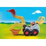Kép 4/4 - Playmobil 1.2.3 - Lapátos kotrógép játékszett