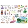 Kép 6/7 - Playmobil -  Princess - Adventi naptár - Királyi piknik a parkban játékszett