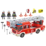 Kép 3/6 - Playmobil - City Action - Létrás tűzoltóegység játékszett