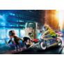 Kép 2/4 - Playmobil - City Action - Rendőrségi motor - Pénztolvaj nyomában játékszett