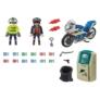 Kép 3/4 - Playmobil - City Action - Rendőrségi motor - Pénztolvaj nyomában játékszett