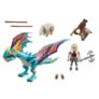 Kép 3/6 - Playmobil - Így neveld a sárkányodat - Dragon Racing - Astrid és Viharzó játékszett