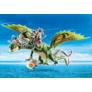 Kép 2/6 - Playmobil - Így neveld a sárkányodat - Dragon Racing -  Kőfej és Fafej, Töffel és Böffel játékszett