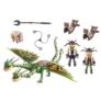 Kép 3/6 - Playmobil - Így neveld a sárkányodat - Dragon Racing -  Kőfej és Fafej, Töffel és Böffel játékszett