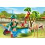 Kép 2/3 - Playmobil - Family Fun - Állatkert Ajándékszett játékszett