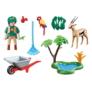Kép 3/3 - Playmobil - Family Fun - Állatkert Ajándékszett játékszett