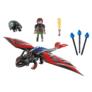 Kép 3/7 - Playmobil - Így neveld a sárkányodat - Dragon Racing - Hablaty és Fogatlan játékszett