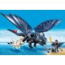 Kép 2/6 - Playmobil - Így neveld a sárkányodat - Fogatlan és Hablaty kis sárkánnyal játékszett