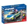 Kép 1/7 - Playmobil - Porche 911 Carrera 4S Rendőrség játékszett