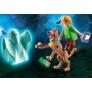 Kép 2/3 - Playmobil - Scooby-Doo! - Scooby és Bozont szellemmel játékszett