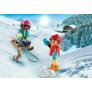 Kép 2/3 - Playmobil - Special Plus - Szánkózó gyerekek játékszett