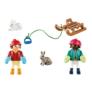 Kép 3/3 - Playmobil - Special Plus - Szánkózó gyerekek játékszett