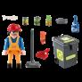 Kép 3/3 - Playmobil - Special Plus - Utcaseprő játékszett