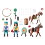 Kép 2/5 - Playmobil - Szilaj, a szabadon száguldó - Kaland a szabadban játékszett