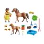 Kép 3/3 - Playmobil - Szilaj, a szabadon száguldó - Prudi lovacskákkal játékszett