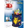 Kép 1/2 - Ravensburger 54 db-os 3D puzzle - Pokémon - Pikachu tolltartó (11257)