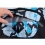 Kép 9/10 - Moro hátizsák, iskolatáska - kék-fekete (351928)
