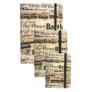 Kép 4/5 - Betűk gumis napló 15 x 20 cm (353148)