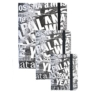 Kép 5/5 - Betűk gumis napló 15 x 20 cm (353148)