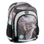 Kép 1/8 - Cicás ergonomikus iskolatáska, hátizsák - Cute
