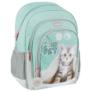 Kép 1/9 - Cicás ergonomikus iskolatáska, hátizsák - I love my pet
