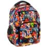 Kép 1/8 - Építőkockás ergonomikus hátizsák, iskolatáska - mellpánttal - On Blocks