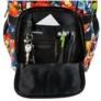 Kép 5/8 - Építőkockás ergonomikus iskolatáska, hátizsák - mellpánttal - On Blocks