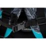 Kép 3/16 - Lovas ergonomikus hátizsák, iskolatáska mellpánttal - Boho
