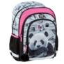 Kép 1/8 - Pandás ergonomikus iskolatáska, hátizsák - Hello Panda