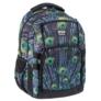 Kép 1/4 - Wild ergonomikus hátizsák, iskolatáska mellpánttal - 4 rekeszes